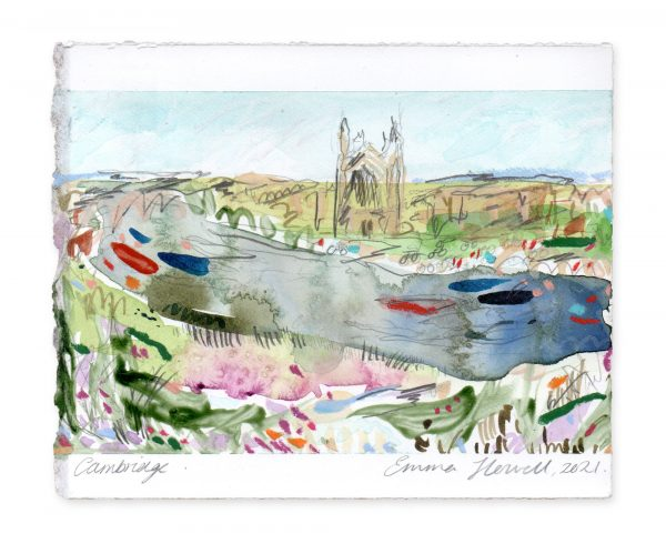 cambridge landscape painting emma howell