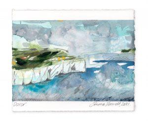 Dover landscape painting emma howell