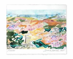Exmoor landscape painting emma howell