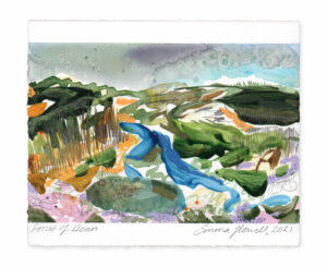 forest of dean landscape painting emma howell