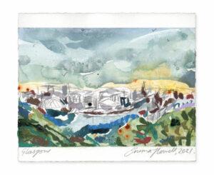glasgow painting landscape emma howell