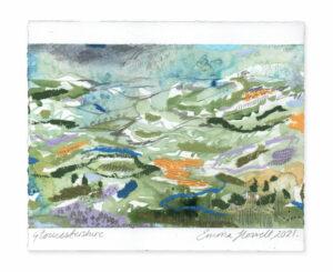 Gloucestershire landscape painting emma howell