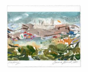 hackney landscape painting emma howell