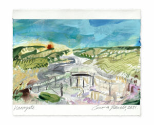 Harrogate landscape painting emma howell