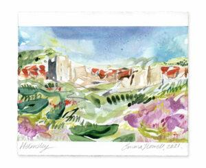 Helmsley landscape painting emma howell