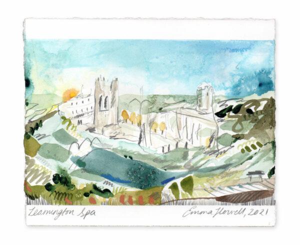 Leamington Spa landscape painting emma howell