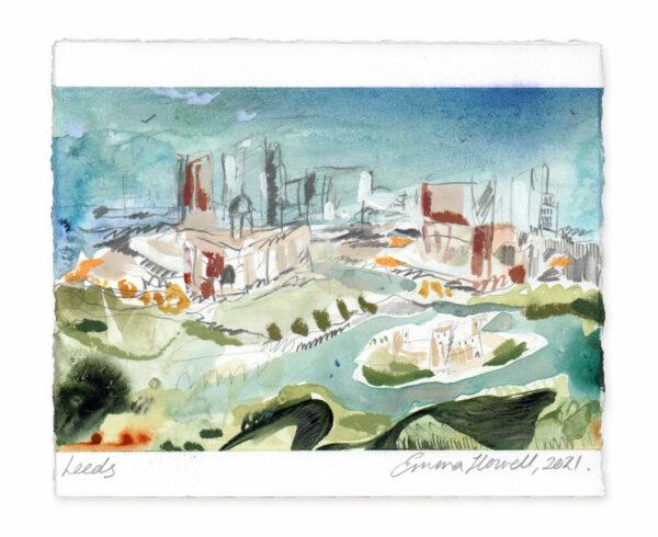 Leeds landscape painting emma howell