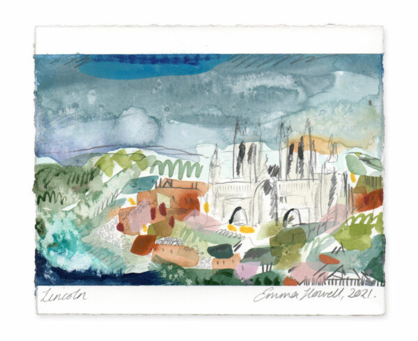 Lincoln landscape painting emma howell