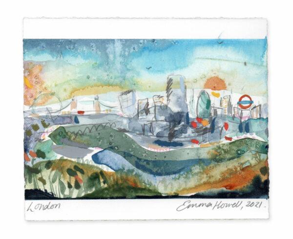 London landscape painting emma howell