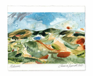 Malvern landscape painting emma howell