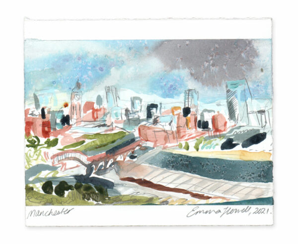 Manchester landscape painting emma howell