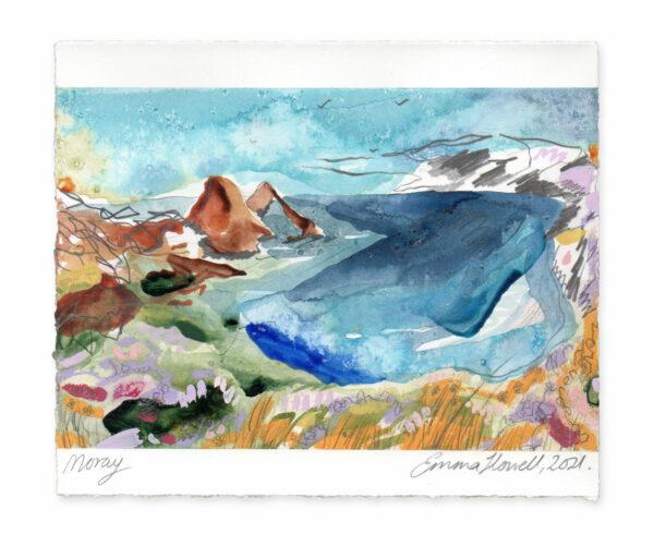 Moray landscape painting emma howell