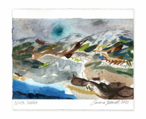 North Wales landscape painting emma howell