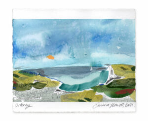 Orkney landscape painting emma howell