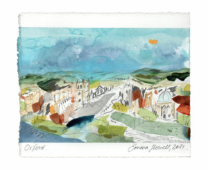 Oxford landscape painting emma howell