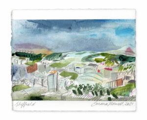 sheffield landscape painting emma howell
