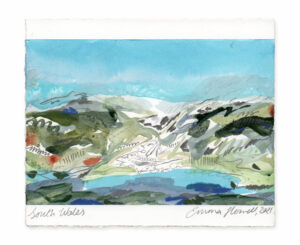 south wales landscape painting emma howell