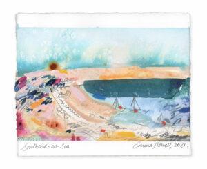 Southend-on-Sea landscape painting emma howell