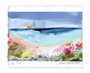 St. Ives landscape painting emma howell