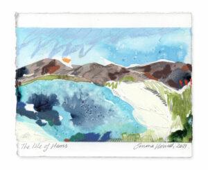 The Isle of Harris landscape painting emma howell