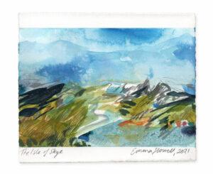 The Isle of Skye landscape painting emma howell