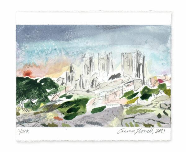 York landscape painting emma howell