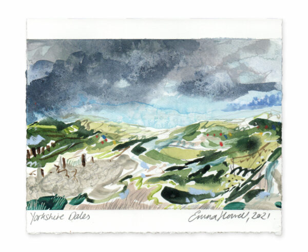 Yorkshire Dales landscape painting emma howell
