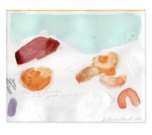 peaches emma howell raw honey painting