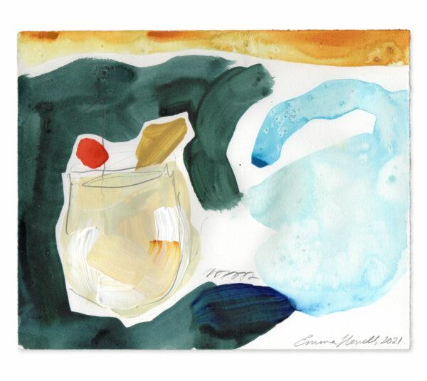 Pina Colada painting emma howell raw honey