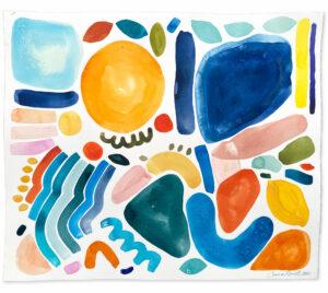 abstract shapes emma howell raw honey